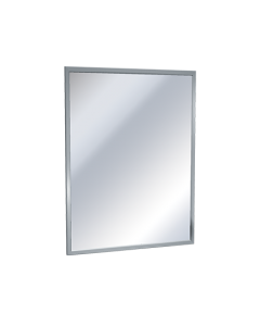 """American Specialties 0620 ANGLE FRAME MIRROR - Plate Glass - 18""""W x 36""""H"""