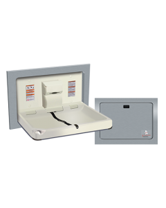 American Specialties Baby Changing Station - Stainless Steel
